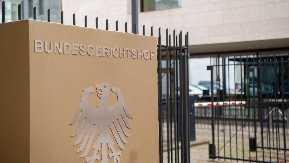 Bundesgerichtshof in Karlsruhe: Kläger in der Defensive