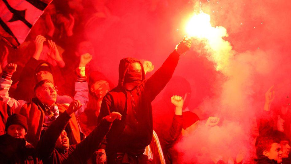 Dynamo-Anhänger in Hannover: Dresden bleibt ausgeschlossen