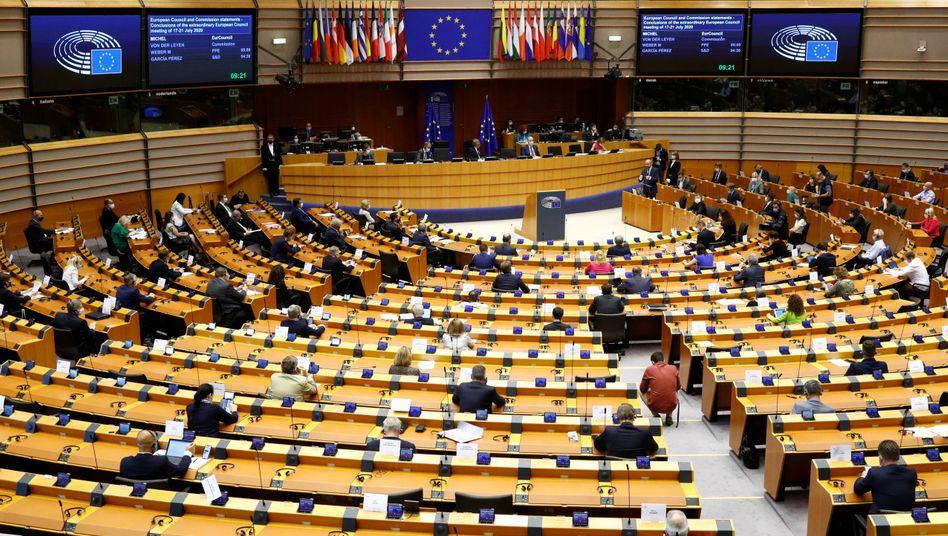 Sitzung des EU-Parlaments im Juli in Brüssel