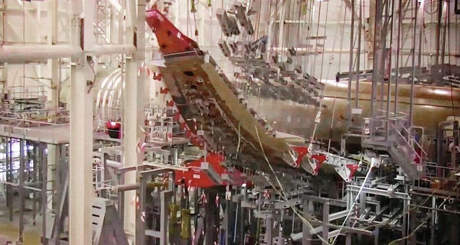 Airbus A350 bei Belastungstest: »Der Flügel ist zu stabil«