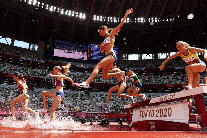Hinernisläuferin Gesa Krause will um eine Medaille mitkämpfen
