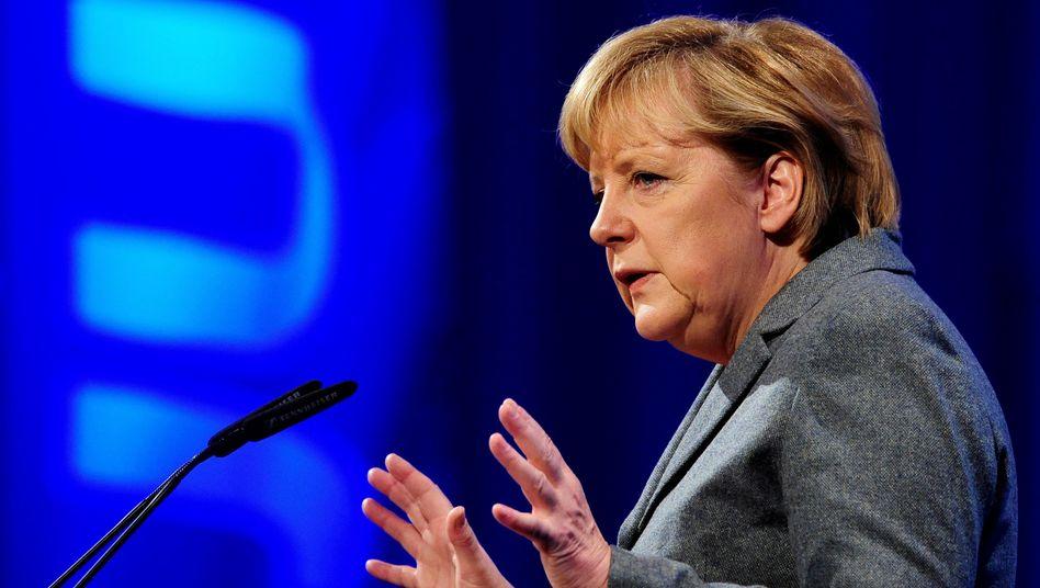 Kanzlerin Merkel beim Deutschlandtag der Jungen Union: Mehr fordern als fördern