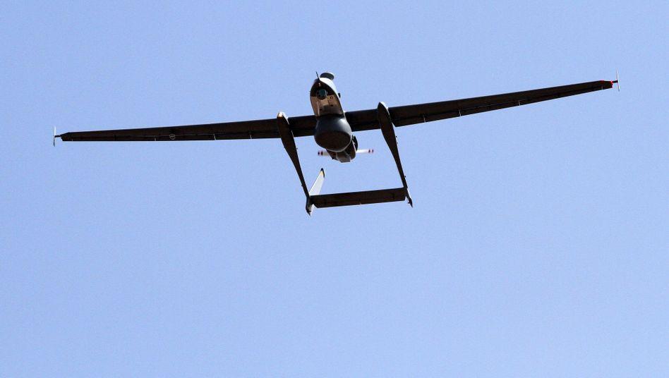 """""""Heron""""-Drohne: Für Bundeswehr weiterhin in Afghanistan in der Luft"""