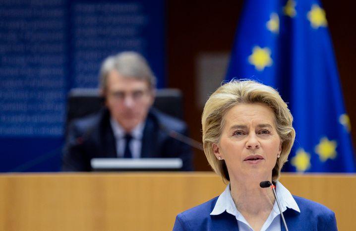 EU-Kommissionschefin Ursula von der Leyen