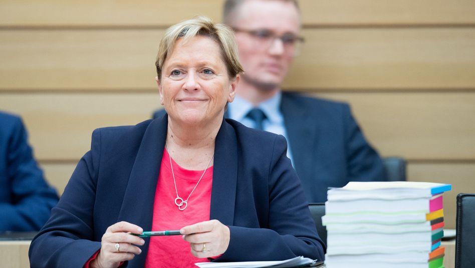 """Die CDU-Politikerin Susanne Eisenmann wünscht sich von Frauen """"mehr Mut, mehr Ego"""""""