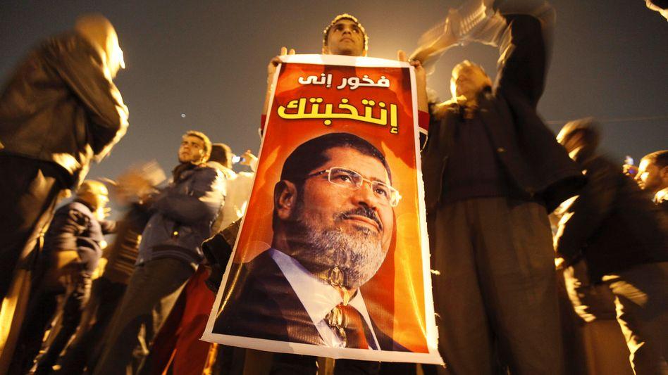 Mursi-Unterstützer: Die Muslimbruderschaft will eine Verfassung nach ihren Vorstellungen