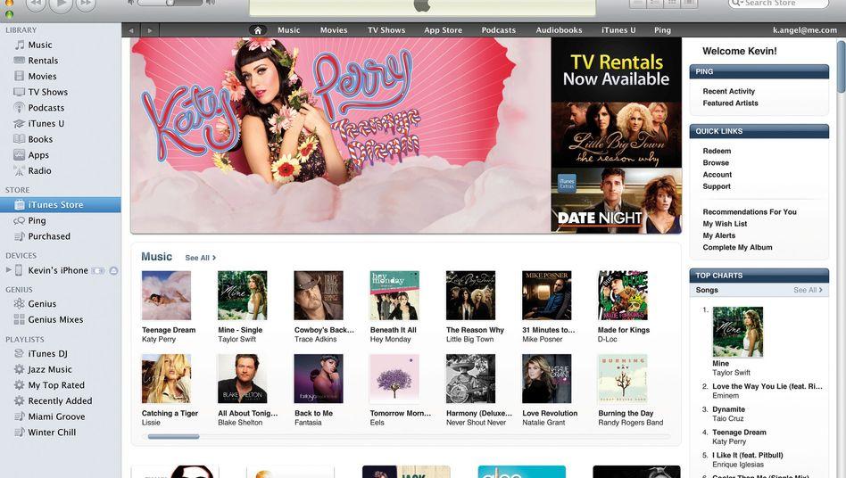 Apple Download-Shop iTunes: Künftig mit eigener Radio-Funktion?