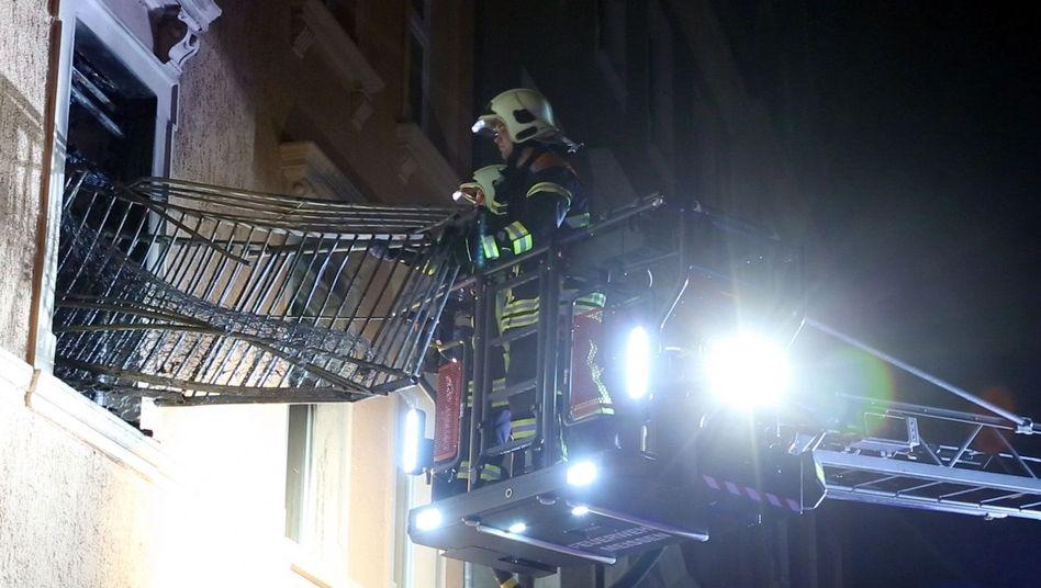 """""""Anschlag mit Ansage"""": Feuerwehreinsatz an der Asylbewerberunterkunft in Meißen"""