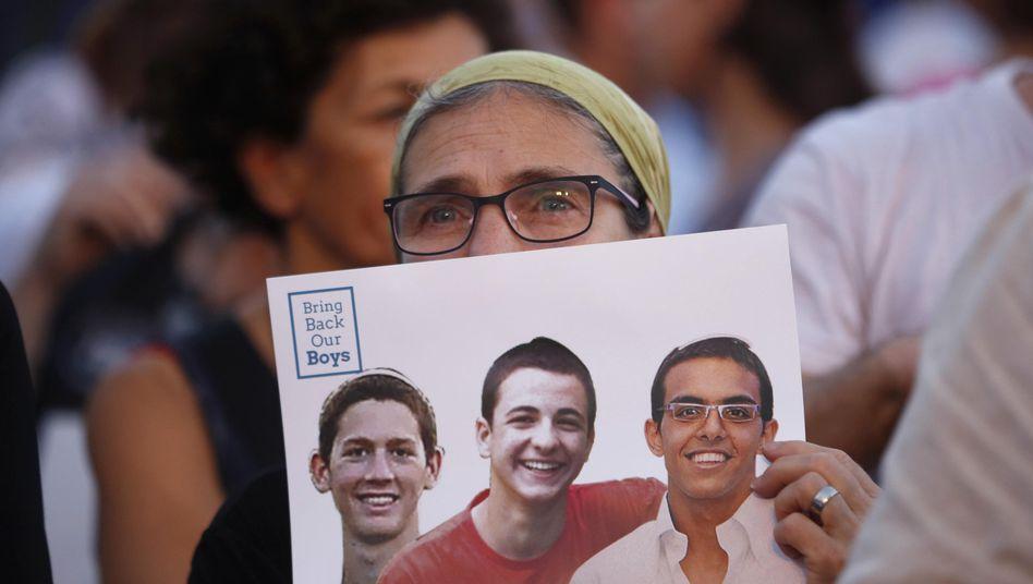 Von Kidnappern erschossen: Leichender vermisstenisraelischen Teenager gefunden