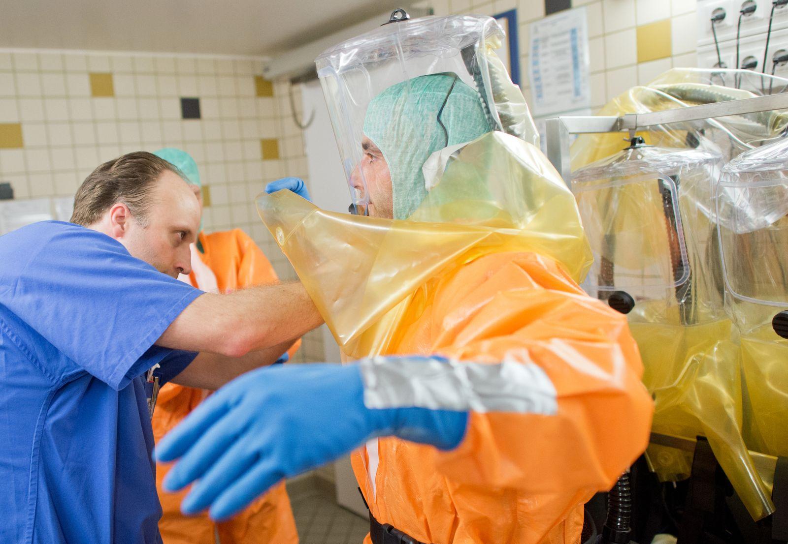 Isolierstation ist auch auf Ebola vorbereitet