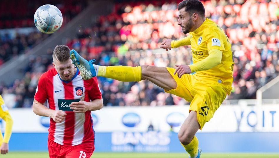Herbstmeister Arminia Bielefeld hat auch zum Abschluss der Hinrunde seine positive Serie fortgesetzt