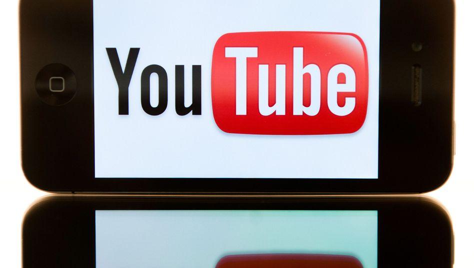 YouTube-Logo auf einem Smartphone: Rückschlag für die Google-Tochter