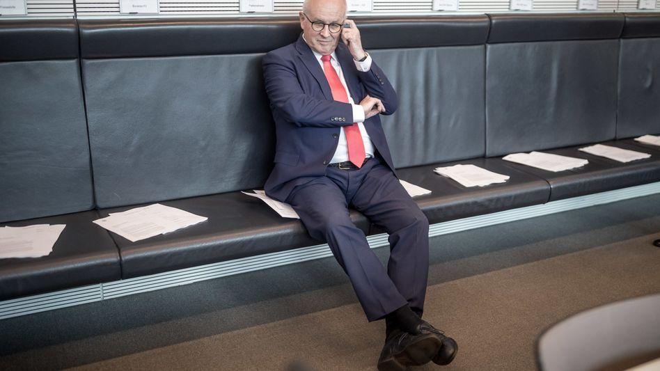 Fraktionschef der CDU/CSU Volker Kauder