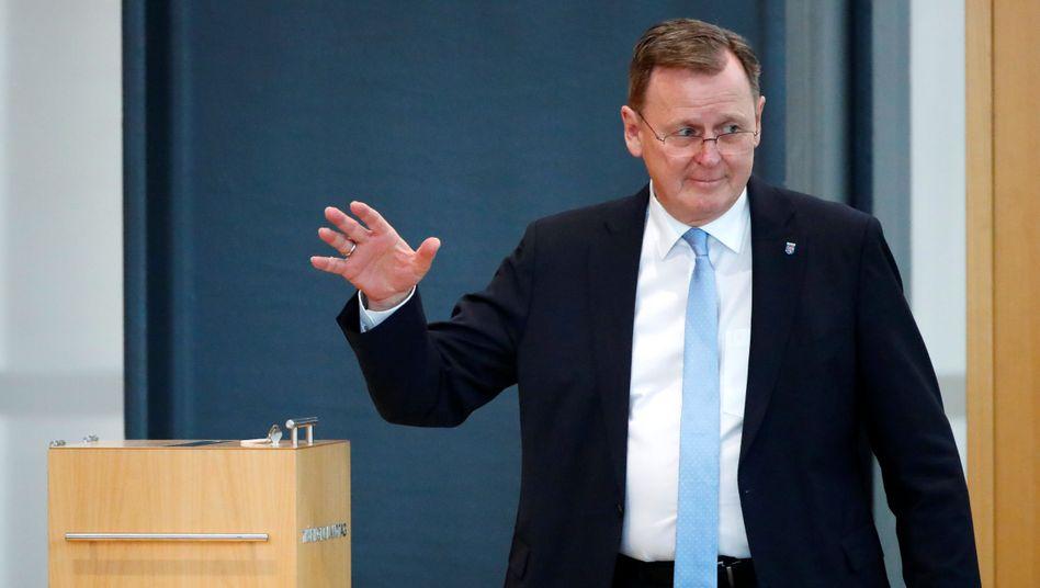 """Thüringens Ministerpräsident Bodo Ramelow (Linke): """"Ich achte die Parlamentsregeln"""""""
