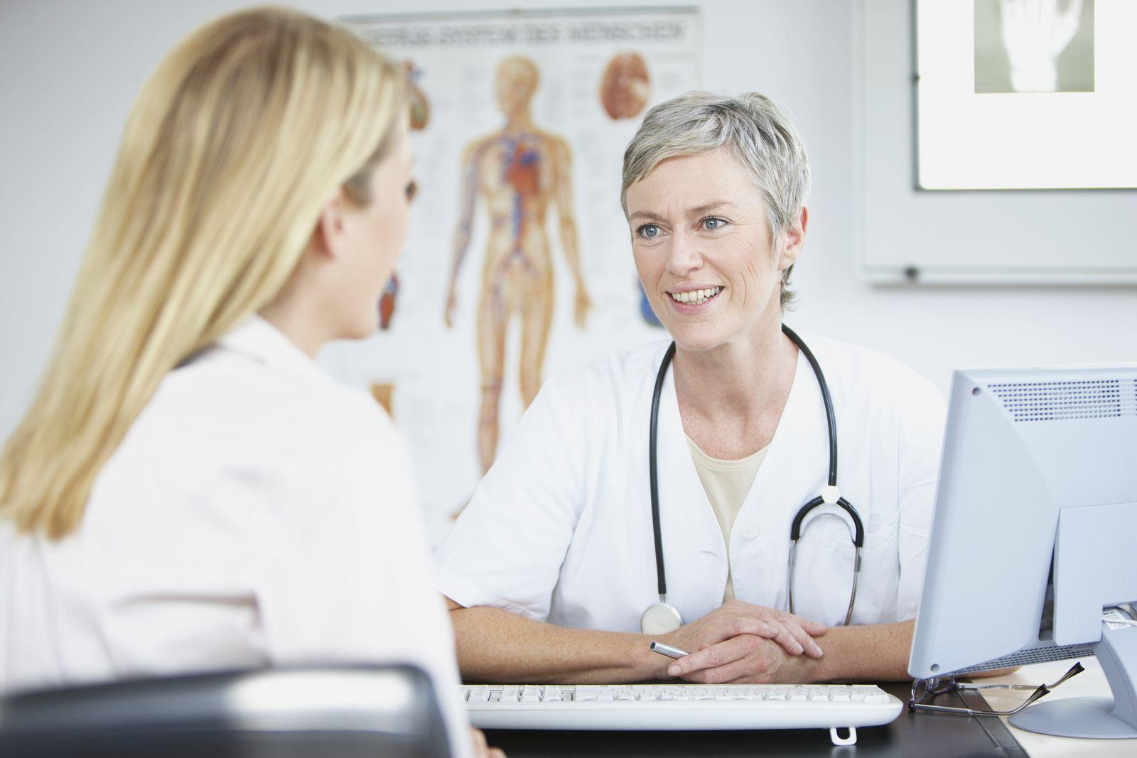 NICHT MEHR VERWENDEN! - Patient / Doktor / Arzt / Gespräch