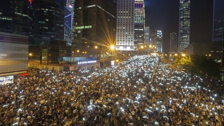 Proteste in Hongkong: Die Regenschirm-Revolution