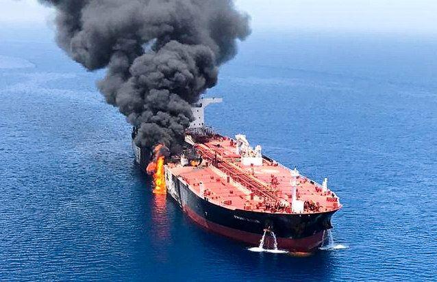 Tanken Golf von Oman