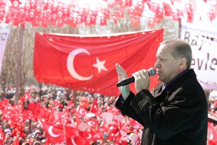 Recep Tayyip Erdogan in Gaziantep