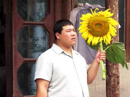 Szene mit Feng Li: Behindert, aber erfolgreich