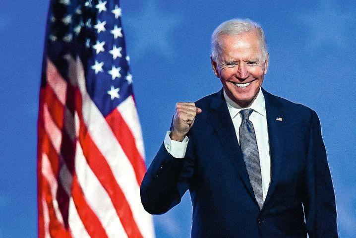 Trump challenger Biden