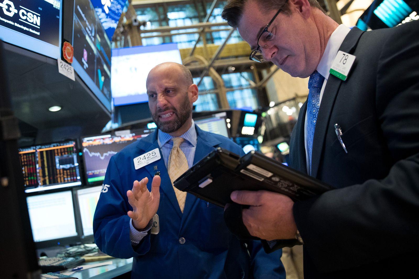 Nervöse Banker