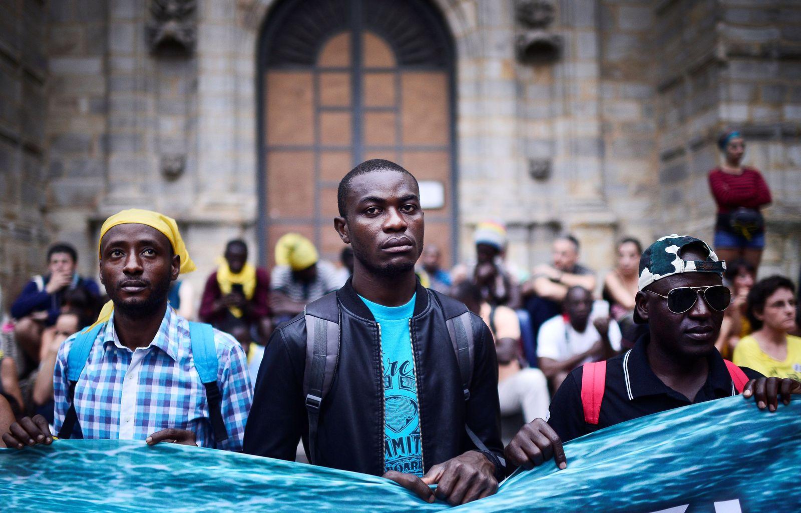 Spanien/ Flüchtlinge/ Bilbao