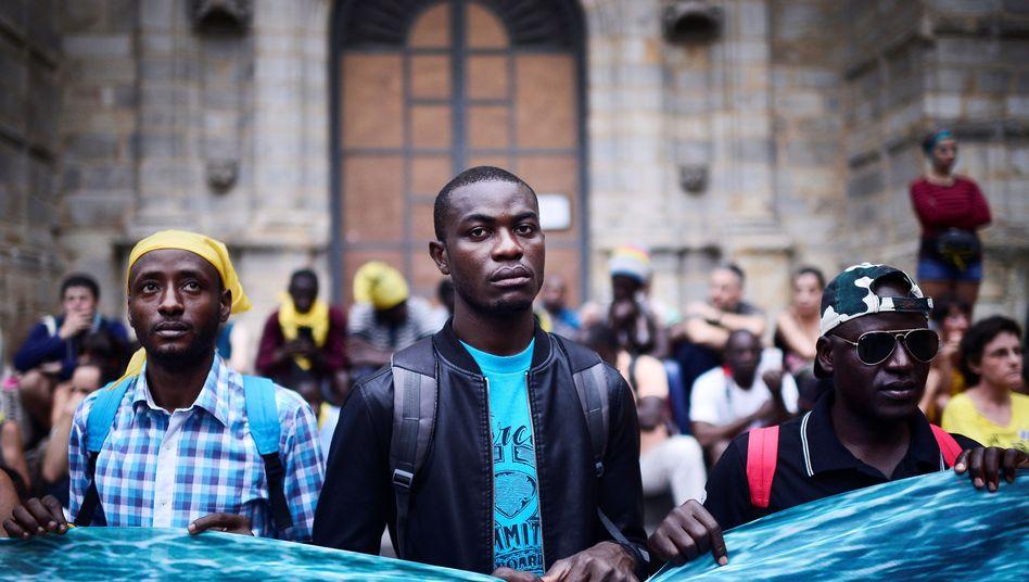 Flüchtlinge in Spanien (Symbolfoto)