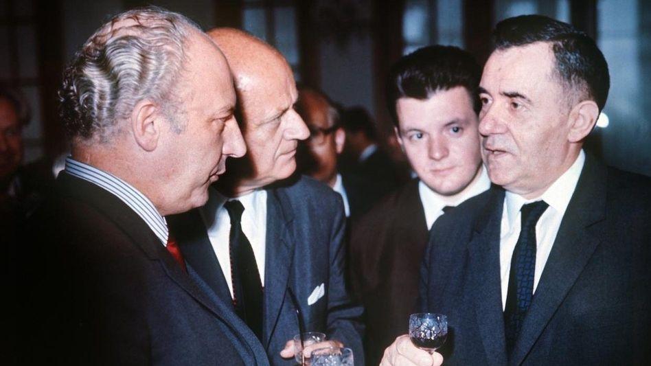 Scheel (links) mit Gromyko in Moskau