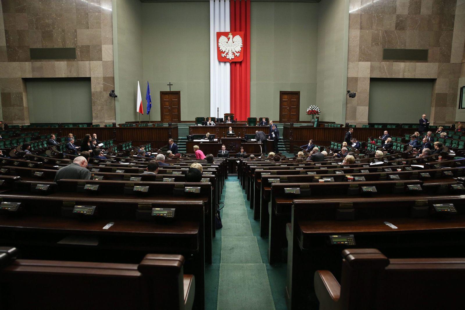 Sejm Plennary Hall