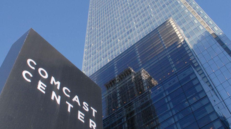 Comcast Center: In diesem Hochhaus in Philadelphia residiert der Medienkonzern