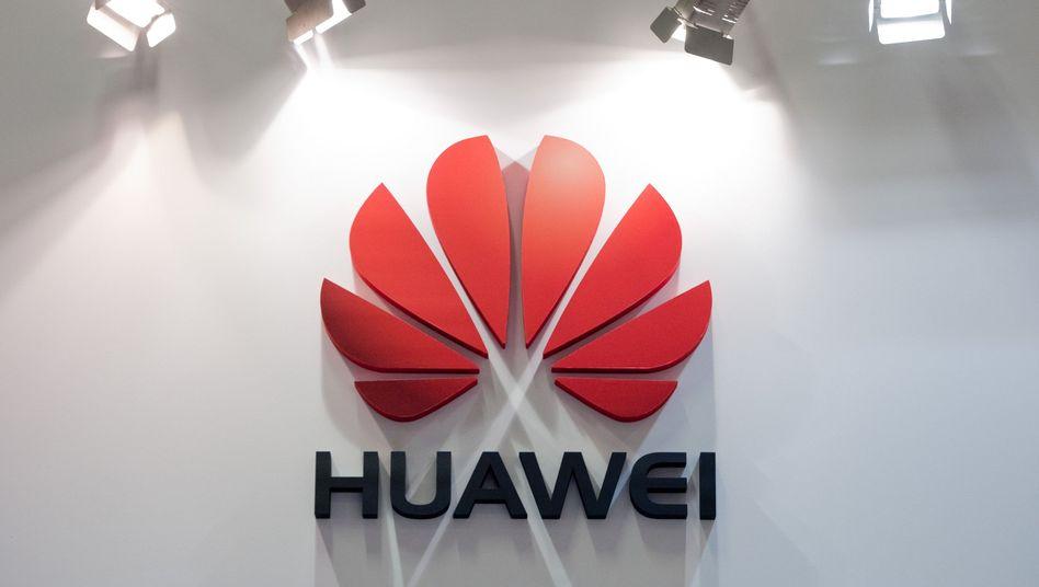 """Huawei-Logo: """"Wir sind offen"""""""