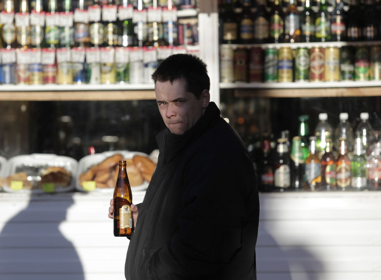 Russland/ Alkohol