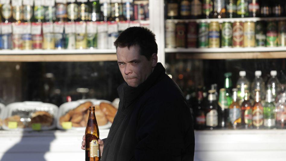 Kiosk in Moskau: Alkoholregelungen gab es in der ehemaligen Sowjetunion kaum
