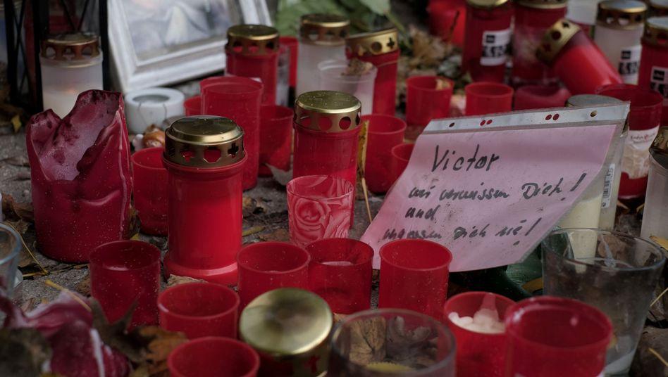 Gedenken an ermordeten 16-jährigen Hamburger