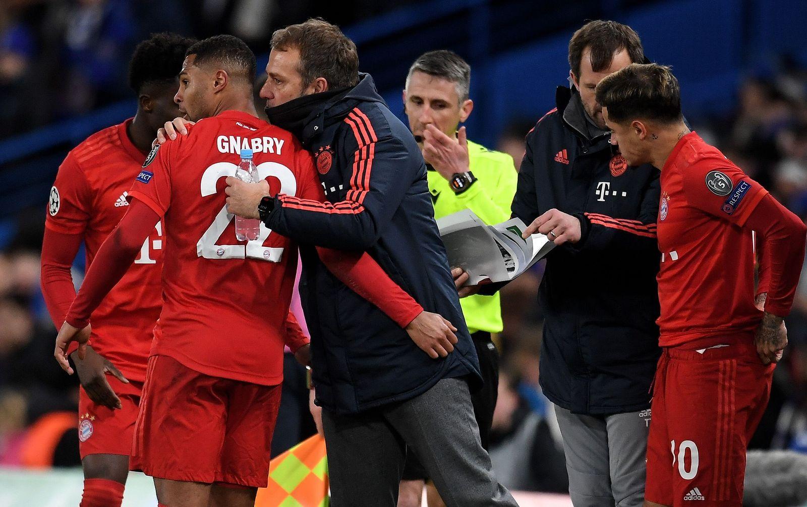 Chelsea FC vs Bayern Munich, London, United Kingdom - 25 Feb 2020