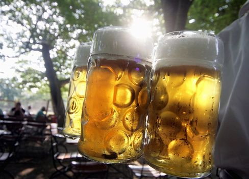 Preisanstieg: Die Maß Bier auf dem Oktoberfest wird teurer