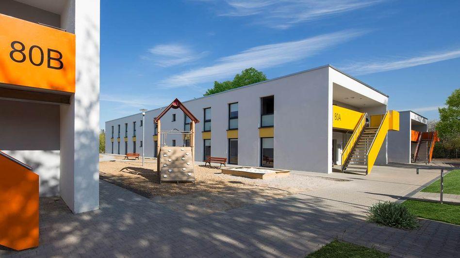 Flüchtlingsunterkunft in Stuttgart: Abbau in zehn Jahren geplant