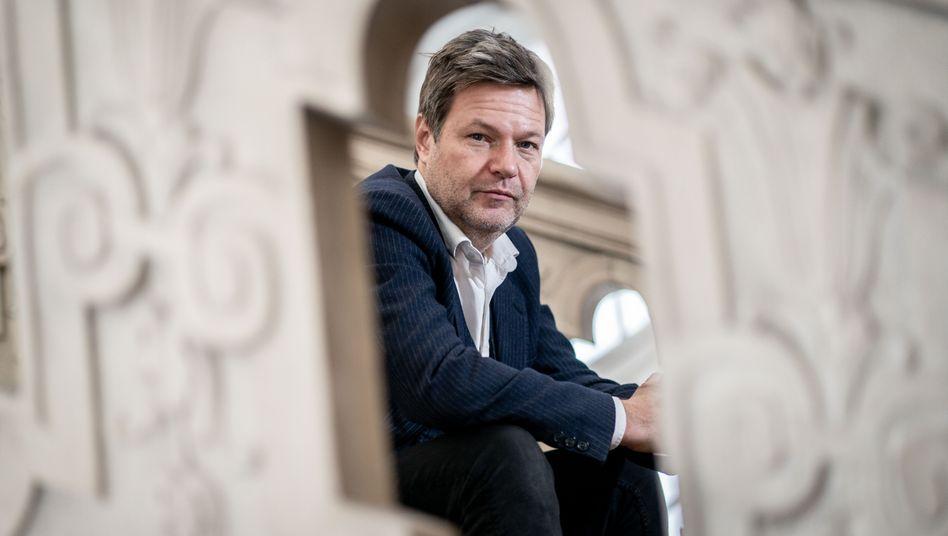 Grünen-Chef Habeck fordert Alternativen zum Shutdown – aber plädiert dennoch für Vorsicht