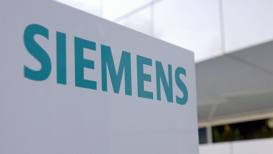 Siemens-Logo: Ärger in Kuwait