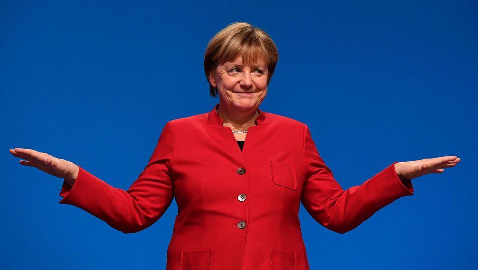 Kanzlerin Merkel (Archivbild)