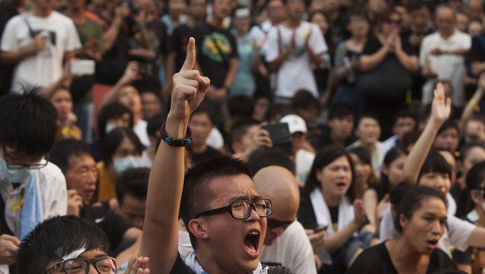 Proteste in Hongkong: Studentenführer stellen Ultimatum