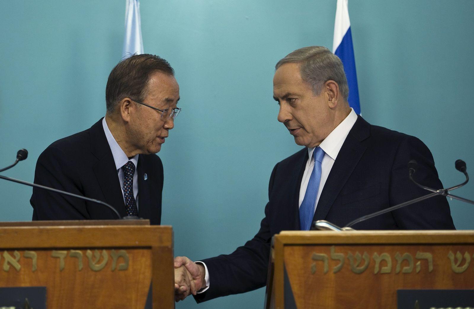 Ban Ki Moon / Netanyahu / Israel