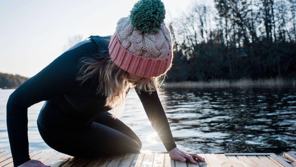 Winterschwimmen in Schweden: Nichts für Ungeübte