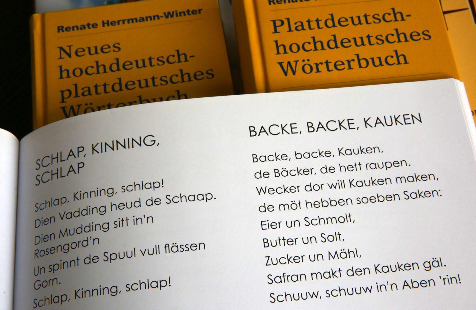 Plattdeutsch Wörterbuch