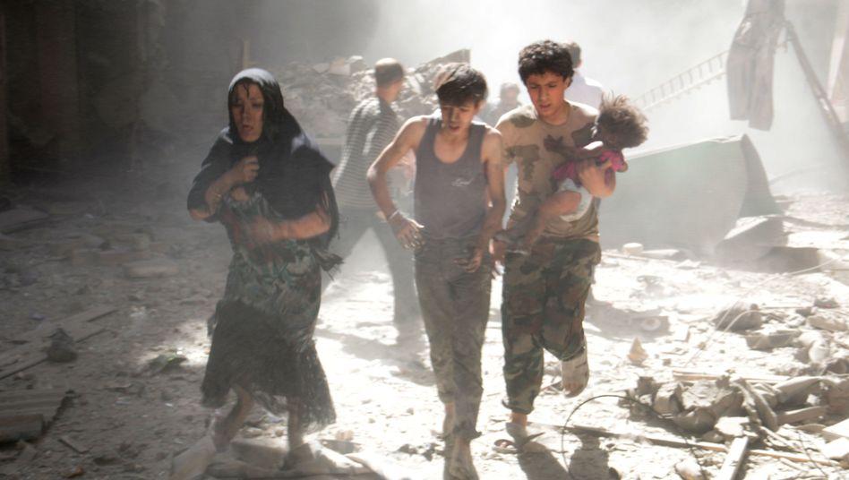 """Syrische Kinder in Aleppo (Archiv): """"Krieg ist das Einzige, was sie kennen"""""""