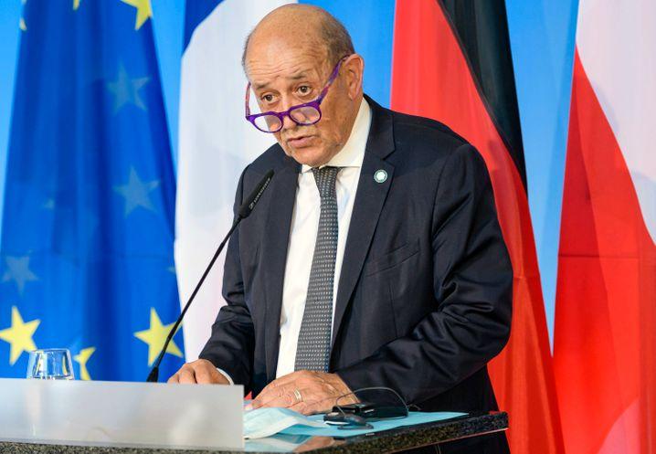 Frankreichs Außenminister Le Drian
