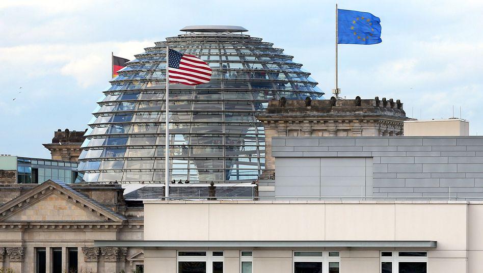 """Berliner Reichstag und US-Botschaft: """"Es muss das Verständnis befreundeter Staaten sein, sich nicht gegenseitig auszuspionieren"""""""