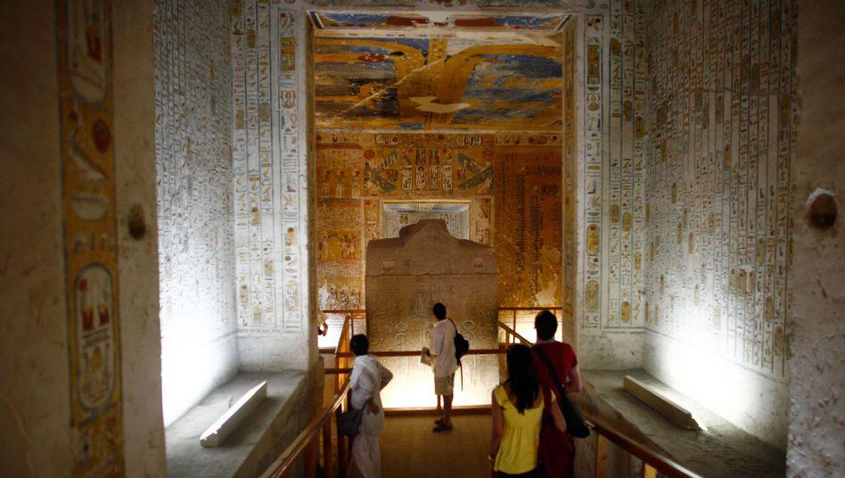 Grab Ramses' IV: Touristen dürfen wieder an diesen bedeutsamen Ort