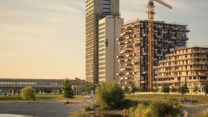 HoHo in Wien: Eine Menge Holz