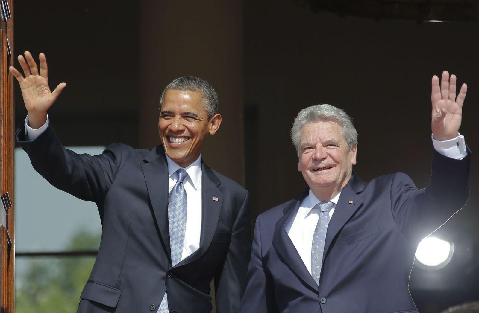 Obama / Berlin / Gauck